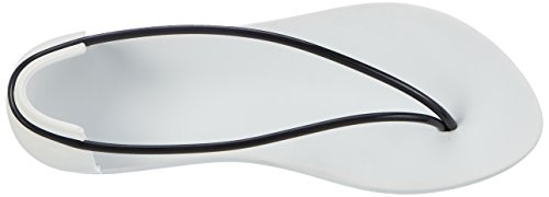 Ipanema Philippe Strack Thing N Ii Fem, Chanclas para Mujer Multicolor (White/Black)