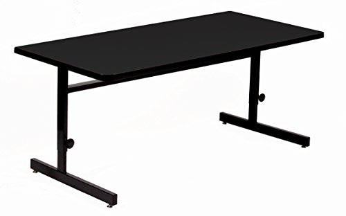 Amazoncom Correll X Adjustable Height Training Computer - Adjustable height training table