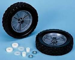 Tote-N-Stor 20015 Rubber Rear Wheel (Rubber Rear Wheels)