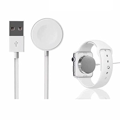 Leoie For iWatchs 2 3 Automatic Adsorption USB Cable Wireless Charger for Apple Watch Wireless Magnetic Charging