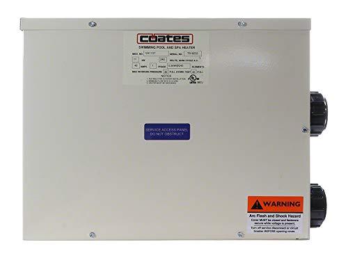 Poolcorp PoolFX Coates 11 Kilowatt Electric Spa Heater - 37,543 BTU's
