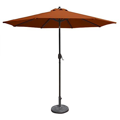 Island Umbrella N5422TC Mirage Octagonal Market Umbrella, 9
