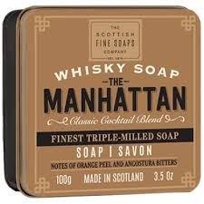 Manhattan Soap (Scottish Soap Soap In A Tin The Manhattan)