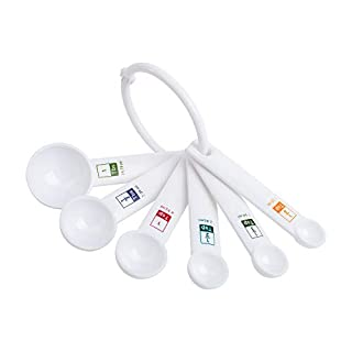 Fox Run 6-Piece Plastic Measuring Spoon Set
