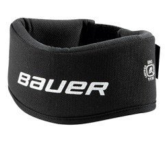 Bauer Youth NG NLP7 Core Neck Guard Collar, Black (Bauer Hockey Shirt With Neck Guard Youth)