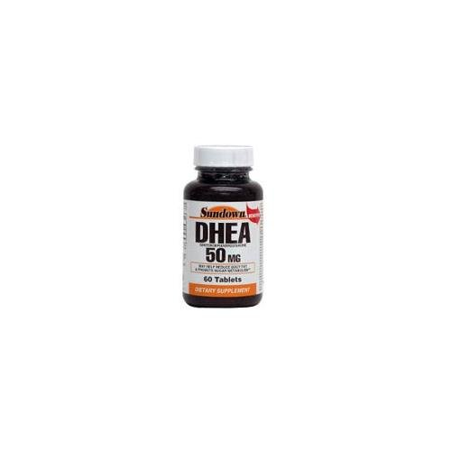 Sundown Naturals DHEA 50 mg Tablets 60 TB - Buy Packs and SAVE (Pack of 5)