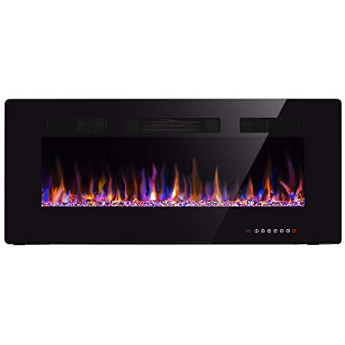 42 electric wall fireplace - 5