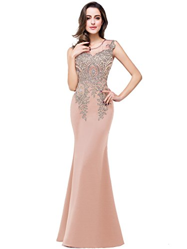 Babyonline Sexy Mermaid Mother of the Bride Dresses Long Evening Gowns