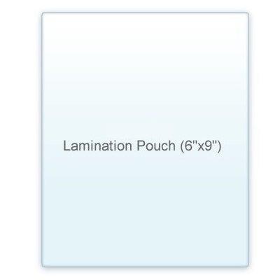7 Mil. Half Page Lamination Pouch Letter Size Clear (6'' x 9'') 100 Pcs.