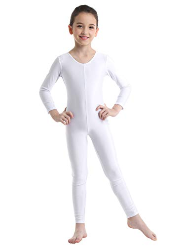 Used, dPois Kids Big Girls' Long Sleeves Full Length Gymnastics for sale  Delivered anywhere in USA