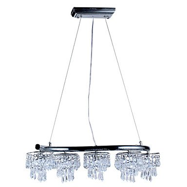 king Luxuriant Crystal Pendant Lights with 10 LEDs