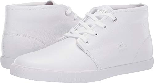 Lacoste Men's ASPARTA Sneaker, White, 11 Medium US ()