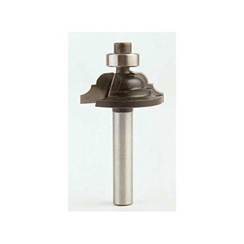 Fraise h57- 33MD de Herco pour perfilar avec double Radio avec roulement dans la pointe, diamètre Ø 32mm manche 8mm diamètre Ø 32mm manche 8mm