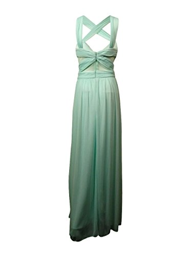 Dress Mint Criss Cross Mesh Back amp; Women's Betsy Out Adam Frosty Cut RUPqSwnza