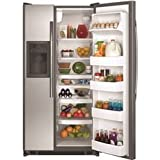 GE ENERGY STAR 21.9 CU. FT. FREE-STANDING REFRIGERATOR, STAINLESS STEEL