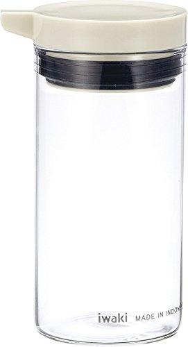 iwaki カラフルトップ しょう油差し 100ml ホワイト KB5023-W