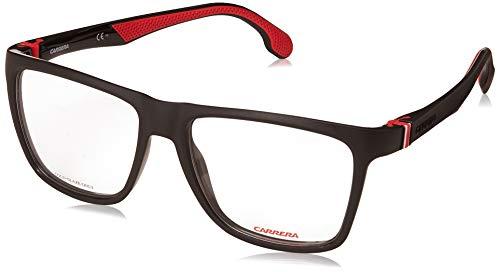 Carrera 5549 Eyeglass Frames CA5549-0807-5617 - Black Frame, Lens Diameter 56mm, Distance Between