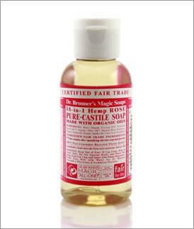 Org Rose Oil Castile Soap-59 ml Brand: Dr. Bronners Magic Soap (Rose Org)