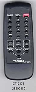 TOSHIBA ORIGINAL Remote Control CT-9873
