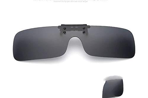 Gafas Pieza Las Arena miopía integraron B Personalidad de D la la a KOMNY la Clip de Tendencia de polarizadas el de de de la Sol de Viento Prueba la w5xdFgqx