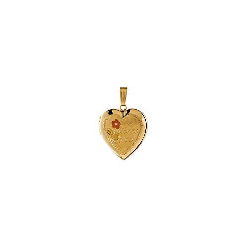 STU001- Design-Engraved Heart Locket by STU001-