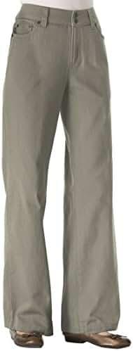 Women's Plus Size Wide Leg 100 Cotton Jean