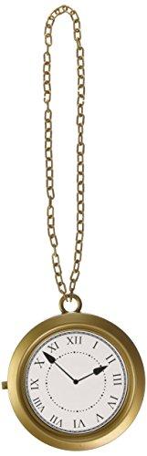 Bronze Jumbo Medallion Clock (Flavor Flav Clock Necklace)