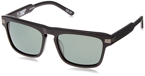 Spy Optic Unisex Funston Matte Black/Happy Gray Green - Spy Cheap Sunglasses