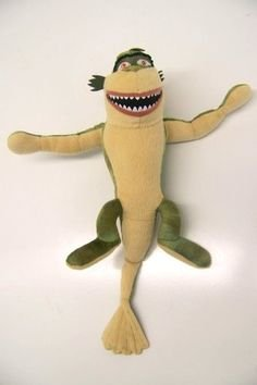 Monsters vs Aliens - Missing Link Plush - Dreamworks (Approx. 11 Inches High)