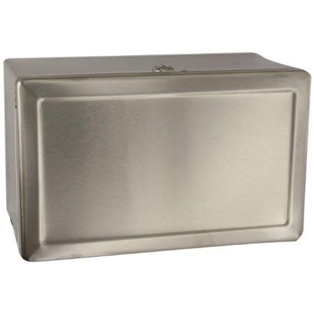 (Bobrick B-263 Stainless Steel Surface-Mounted Paper Towel Dispenser)