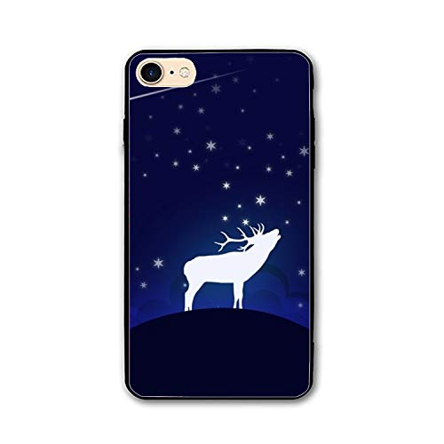 Reindeer iPhone 8 Case Anti-Finger Print PC cellpnone Case for $<!--$6.88-->