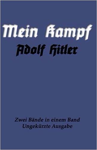 Mein Kampf: Eine Abrechnung (German Edition) by Adolf Hitler (2016 ...