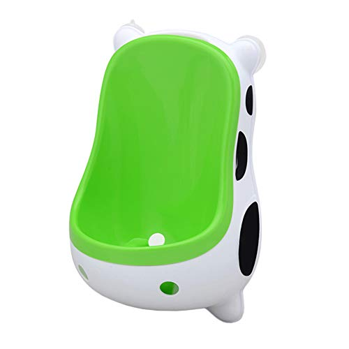 (Potty Training Urinal for Boys Toddler, YKL WORLD Cute Cow Toilet Potty Urinal Pee Trainer with Funny Aiming Target - Cow)