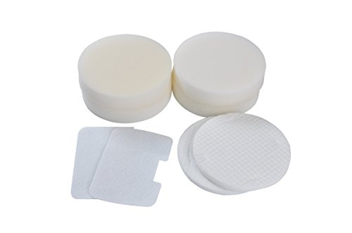 (Type XF22 Filter Kit) for Shark Navigator NV22 -series Vacuum Cleaners, NV22, NV22L, NV22C, NV22T, NV22Q and any other NV model. (2 Kits) Genuine Green Label Product. (Shark Navigator Nv22c compare prices)