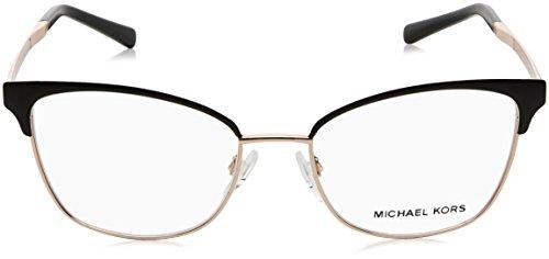27d7e79ffb Michael Kors ADRIANNA IV MK3012 Eyeglass Frames 1113-51 - Black rose Gold