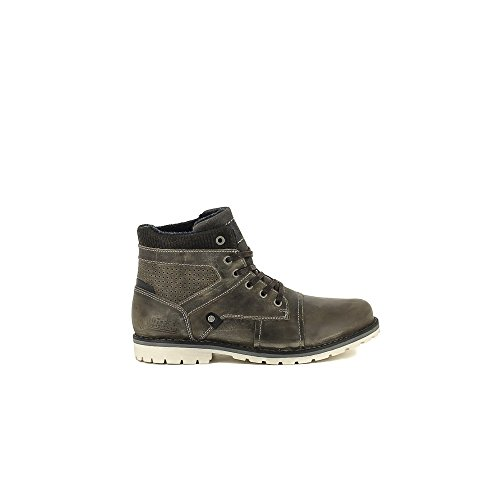 Bullboxer B256-K5-5118B Zapatos de cordones Hombre gris, EU 43