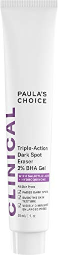 (Paula's Choice CLINICAL Triple-Action Dark Spot Eraser 2% BHA Gel | Salicylic Acid & Hydroquinone | Hyperpigmentation & Skin Lightening | 1 Ounce)