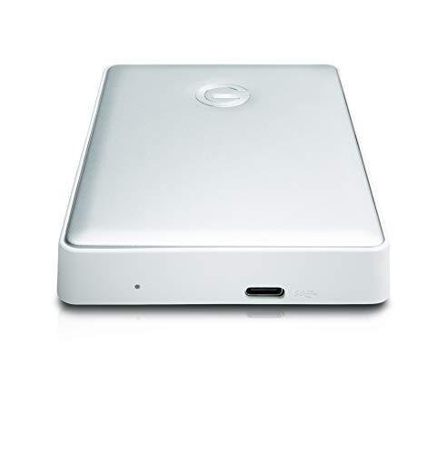 G-Technology 4TB G-DRIVE Mobile USB-C (USB 3.1 Gen 1) Portable External Hard Drive, Silver- 0G10348 by G-Technology (Image #3)