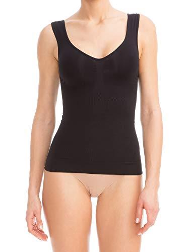 - FarmaCell 342 (Black, L/XL) Women's Compression Anti-Cellulite Shapewear Cami
