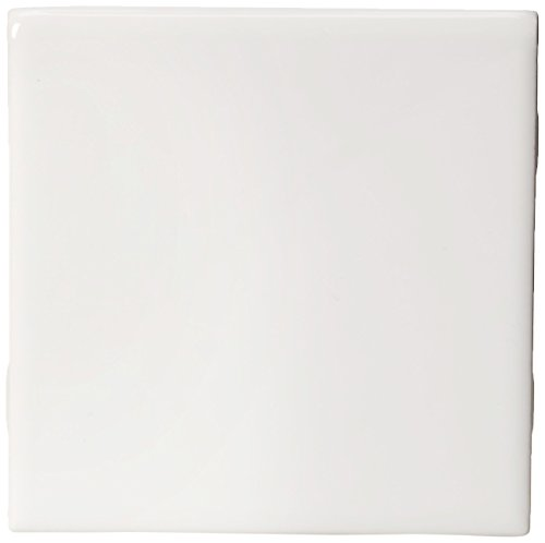 -1/4 in. x 4-1/4 in. White Ceramic Bullnose Wall Tile (Ceramic Tile Bullnose)