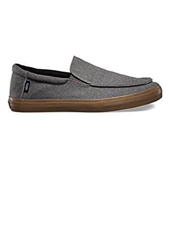 Vans Bali SF Mens Gray Canvas Slip On Sneakers Shoes 7 biXmA5EcYn