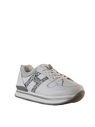 Hogan - Zapatillas de Piel para niña Bianco