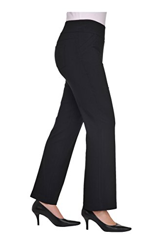 Pull-On Boot Cut Pant Black 12 by Alia (Image #2)