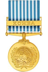 Medals of America United Nations Korean Service Medal Anodized ()