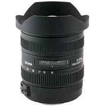 Sigma 12 mm - 24 mm f/4.5 - 5.6 Wide Angle Zoom Lens for Nikon F (204-306)