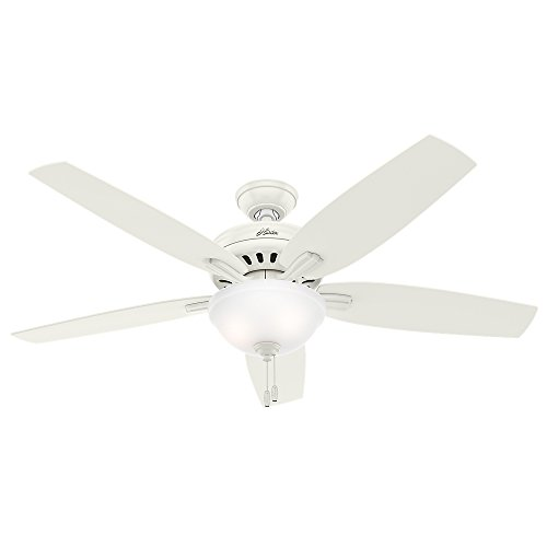 """Hunter 54160 Newsome Ceiling Fan with Light, 56""""/Large, Fres"""