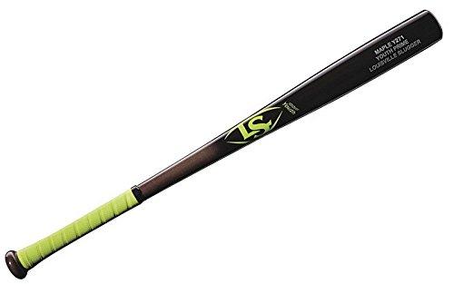 Louisville Slugger Y271 Youth Prime Maple Baseball Bat, Neon/Yellow, 28