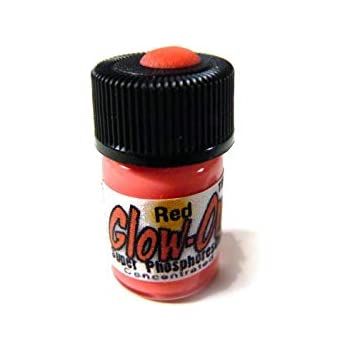 Glow On Red Bubble Gum Red Super Phosphorescent Gun Night Sights Paint Small 2 3 Ml Vial Concentrated Super Bright Long Lasting Glow