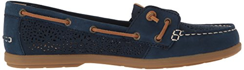 Medium Geo Sperry Us Boat Women's Navy 5 Coil Perf 8 Shoe Ivy raqvPwtWa
