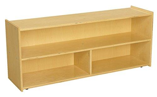 Childcraft 1526306 ABC Furnishings 3-Compartment Storage Unit, 20